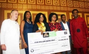 Pretty Woman Wins N5m After Turning Trash to Furniture in Heritage Bank